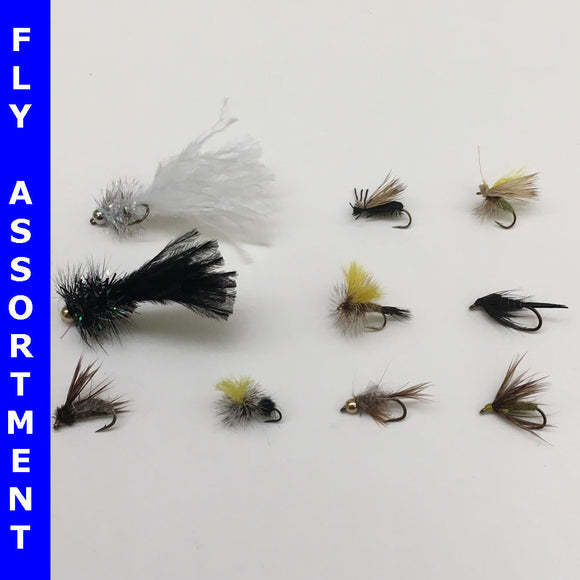 Virginia Ten Best Trout Flies Assortment