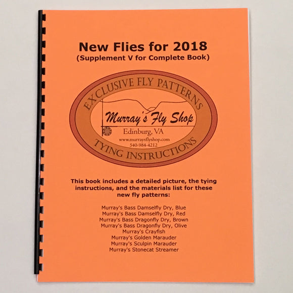 Exclusive Fly Patterns New Flies for 2018 - Murray's Fly Shop