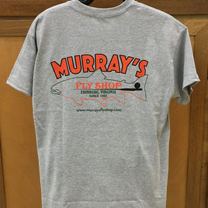 Murray's Brook Trout Shirt Sport Gray