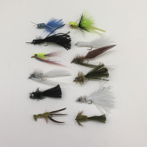 Fall Bass Fly Assortment