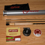 Murrays Mountain Trout Rod and Reel Fly Fishing Outfit