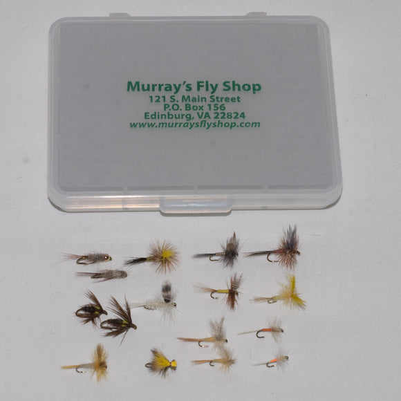Murray's Fly Shop Mountain Trout Fly Assortment