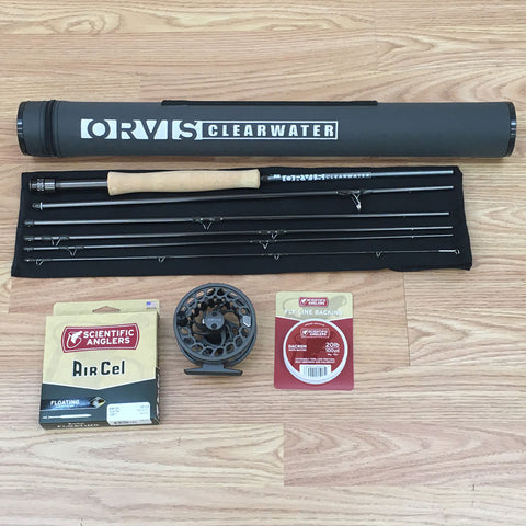 Orvis Clearwater 6-piece Travel Fly Rod Outfits