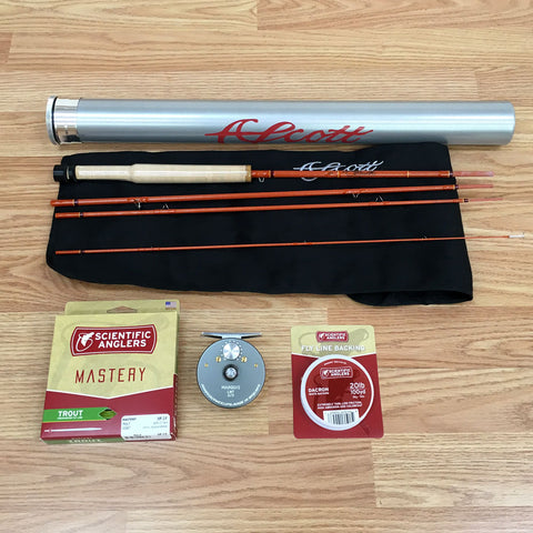 Scott F Series 622 Trout Fly Rod Outfit