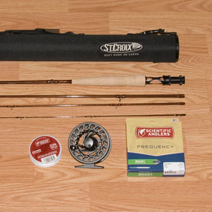 St Croix Imperial 764 Fly Fishing Outfit