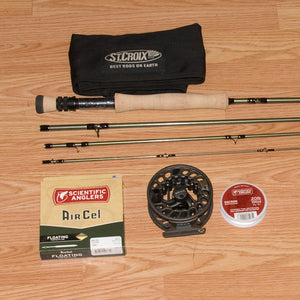 St Croix Mojo 907 Trout Fly Rod Outfit