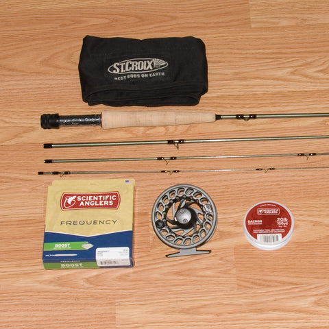 St Croix Mojo Trout Fly Rod Outfit