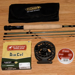 St Croix Mojo Trout 804/4 Fly Rod Outfit