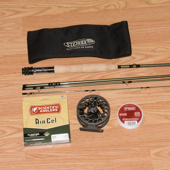 St. Croix Mojo Trout Fly Rod Outfit