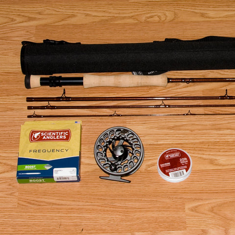 St. Croix Imperial 907 Bass Fly Rod Outfit