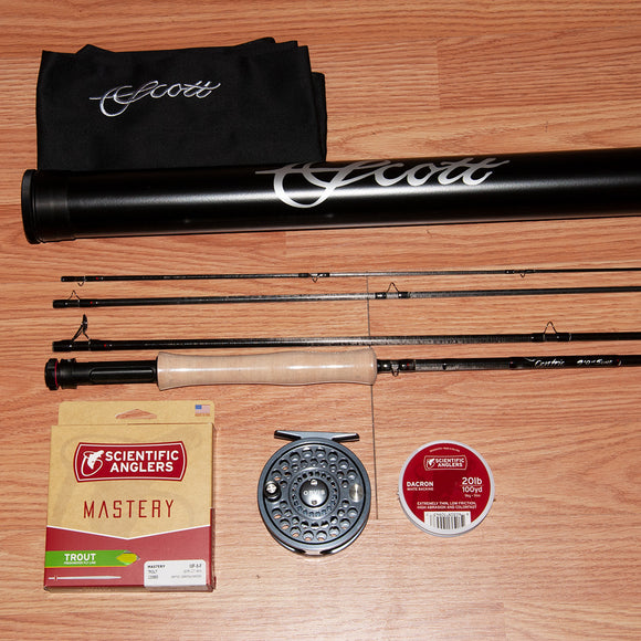 Scott Centric 905/4 Fly Rod & Reel Outfit