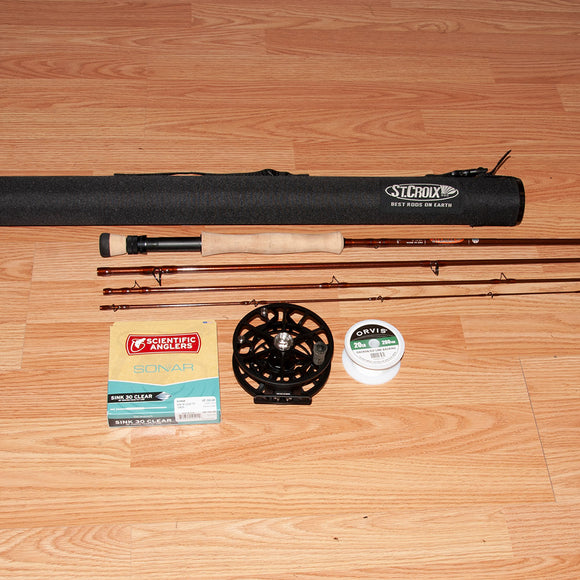 St. Croix Imperial 9010/4 fly rod outfit