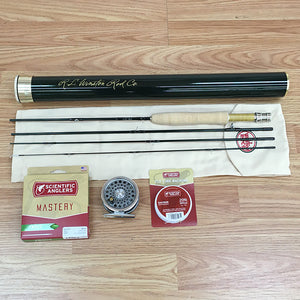 "Winston Pure 6'6"" 3 weight Fly Rod Outfit"