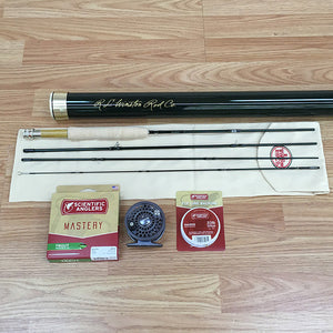"Winston Pure 7'6"" 3-weight 4pc Fly Rod Outfit"