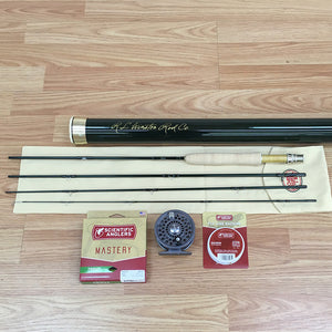 Winston Pure 7 1/2 ft 4-weight Trout Fly Rod Outfit