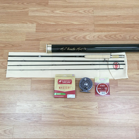 Winston Pure 9' 5-weight Fly Rod Outfit