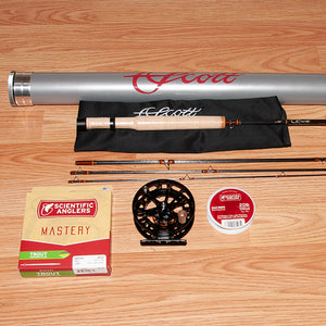 Scott G Series 773/4 Fly Rod Outfit