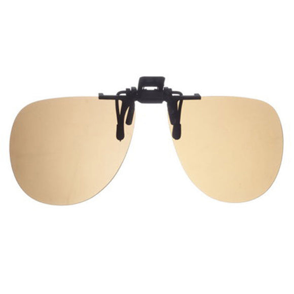 Clip On Polarized Sunglasses, Brown - Murray's Fly Shop endorsed product