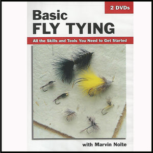 Basic Fly Tying DVD Murray's Fly Shop