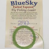 Blue Sky Furled Tapered Leader UltraLight 0-3 Weight