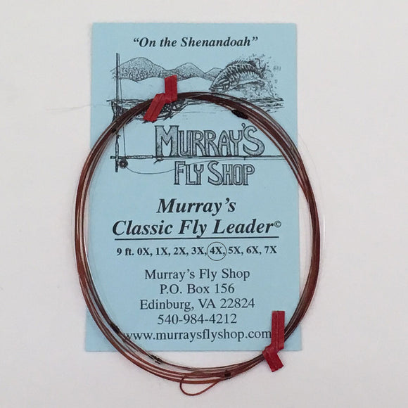 Murray's Classic Leader 9ft 4X