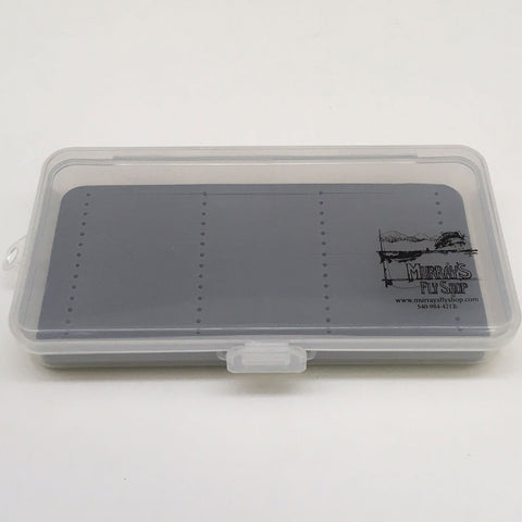 Clear Box with Gray Liner