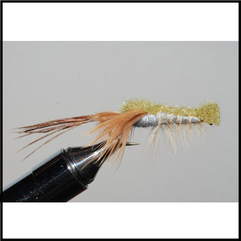 Clouser Crayfish, Olive Green