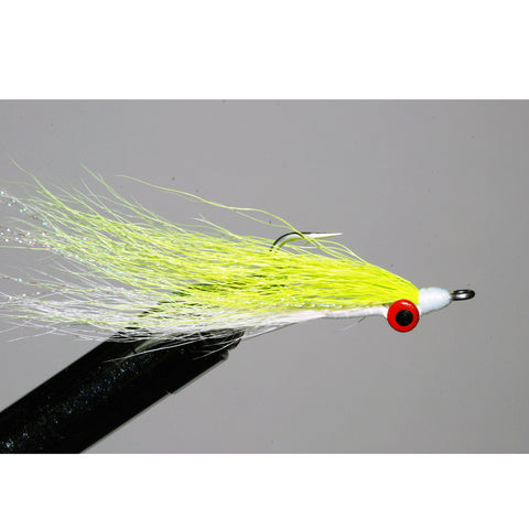Clouser Minnow Chartreuse White
