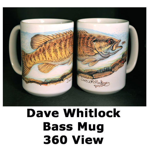 Dave Whitlock Signature Mugs