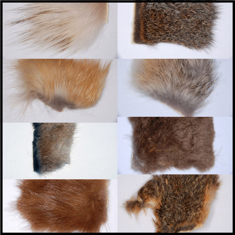 Natural Dubbing Fur