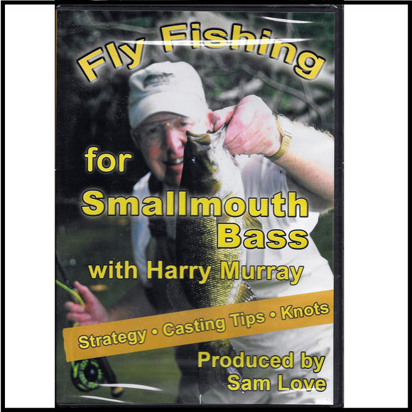 Fly Fishing for Smallmouth Bass DVD