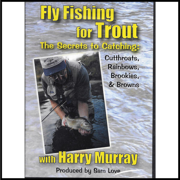 Fly Fishing for Trout DVD