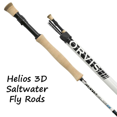 Orvis Helios 3D Saltwater Fly Rods