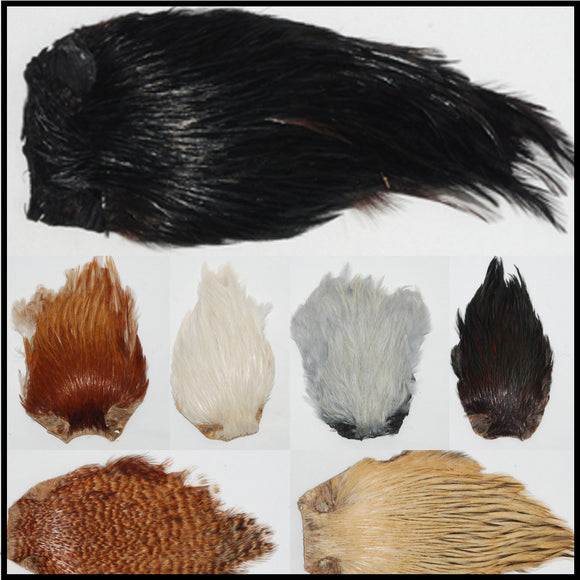 Indian Hackle Cape
