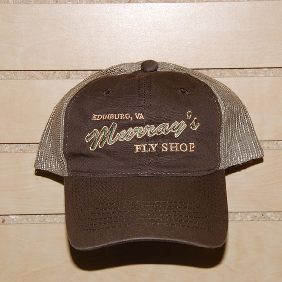 Mesh Hat brown/tan