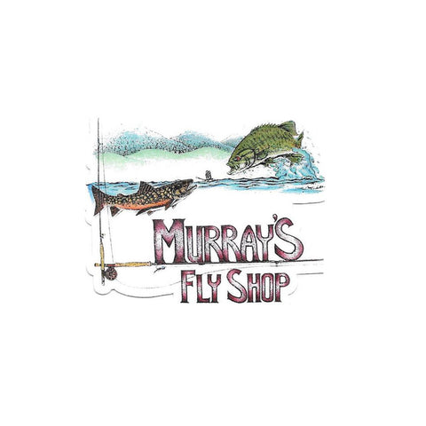 Murray's Fly Shop Logo Souvenir Sticker