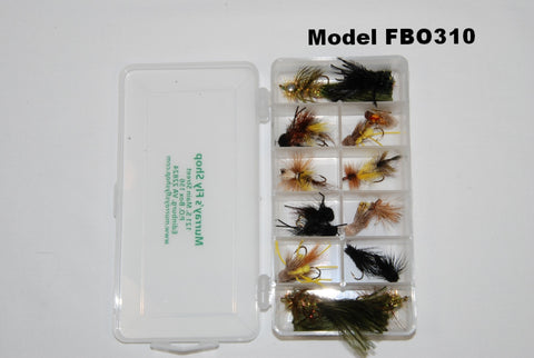 Model FBO310 10 compartment fly box - Murray's Fly Shop
