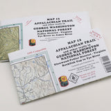 Appalachian Trail Maps George Washington National Forest