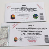 Appalachian Trail Maps Massanutten Mountain Map G Map H - Murray's Fly Shop