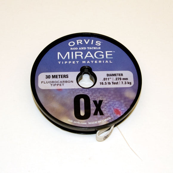 Mirage Fluorocarbon Tippet 0X