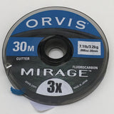 Orvis Mirage Fluorocarbon Tippet 30m spool