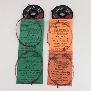 Mountain Trout Leader & Tippet Assortment