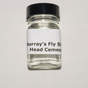 Murray's Fly Shop Fly Tying Cement