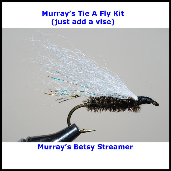 Murray's Betsy Streamer Fly Tying Kit