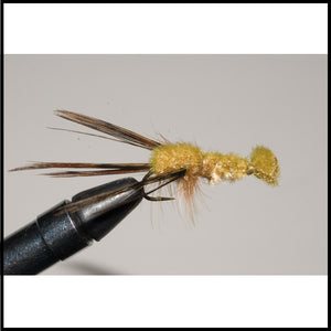 Murray's Crayfish Fly Pattern for trout and bass Brown and Olive