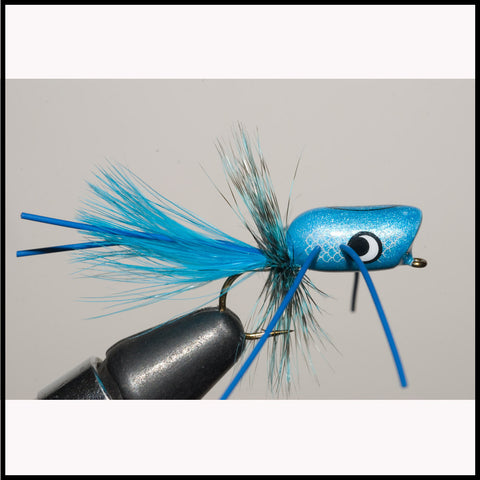Murray's Fluorescent Blue Popper