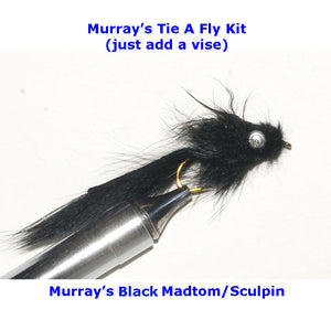 Murray's Madtom Sculpin Fly Tying Kit