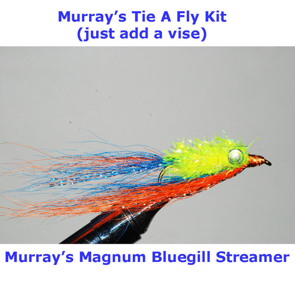 Murray's Magnum Bluegill Streamer Fly Tying Kit