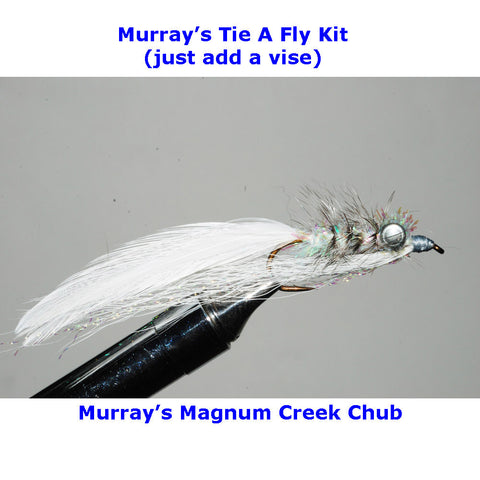 Murray's Magnum Creek Chub Fly Tying Kit