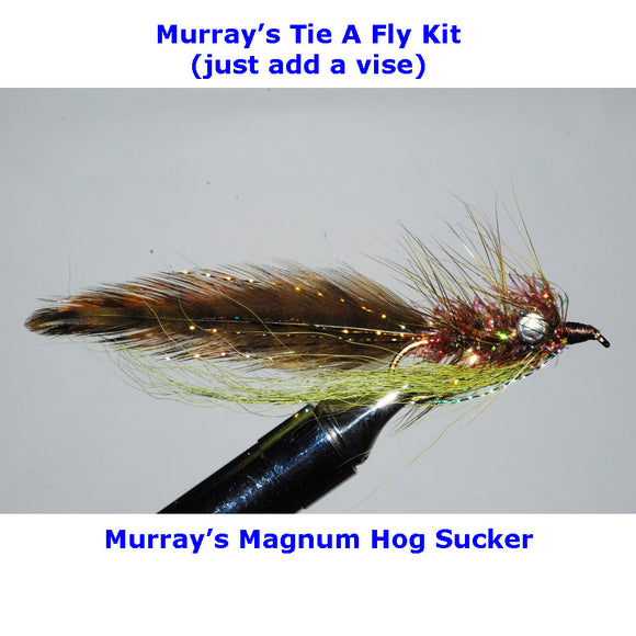 Murray's Magnum Hog Sucker Fly Tying Kit